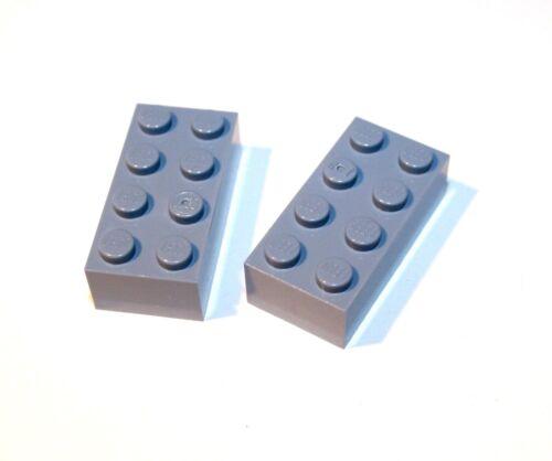 2x LEGO ® pietra 2x4 3001 Nuovo Sabbia Blu Sabbia Blue RAR