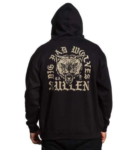 Sullen Clothing Big Bad Wolves Tattoo Ink Adult Mens Hoodie Sweatshirt SCM2181