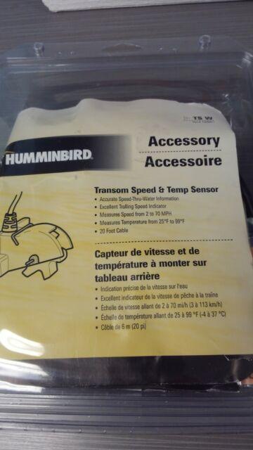1 Each Humminbird 730000-1 Humminbird Speed Temp Sensor Ts W 730000-1