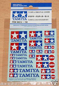 Tamiya-66614-Tamiya-Logo-Sticker-Set-Decals-Stickers-NIP