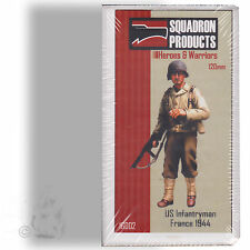 SQUADRON'S HEROES AND WARRIORS 1/16 U.S. INFANTRYMAN FRANCE 1944 RESIN FIGURE