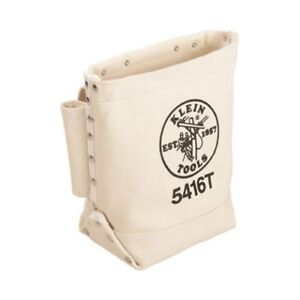 Klein-5416T-Bull-Pin-and-Bolt-Bag-Canvas-with-Tunnel-Loop