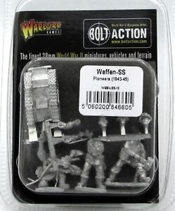 Bolt Action WGB-LSS-01 Waffen-SS HQ WWII German Infantry Command NIB 1943-45