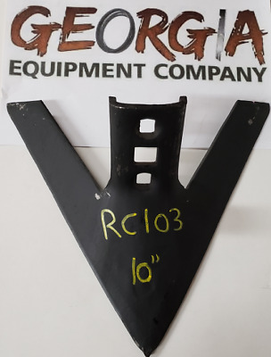 """CHEAPEST  SHIPPING!! 10/"""" ROW CROP SWEEP CULTIVATOR SWEEPS"""