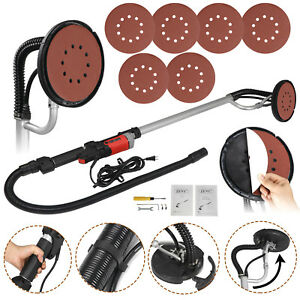 Drywall-Sander-800-Watts-Commercial-Electric-Variable-Speed-Free-Sanding-Pad-New