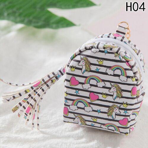 Mini Münze Einhorn Brieftasche Karte Geldbörse Tasche Keys Pouch Geschenk Frauen
