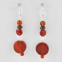 Barse Jewelry Carnelian Stone Earrings