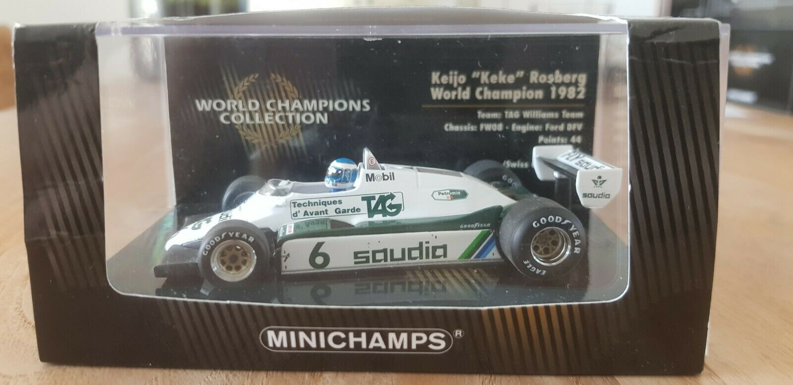negozio a basso costo Minichamps -  Keke Rosberg - - - Williams - FW08 - 1982 - World Champion - 1 43  offerta speciale