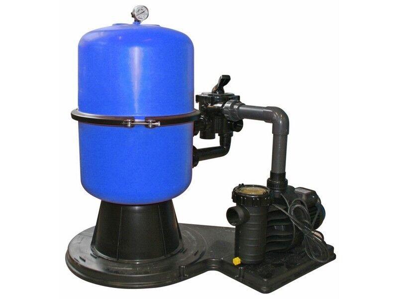 Sandfilteranlage Sandfilter SF 400 6-Wege-Ventil Aqua Plus 8 Pumpe Filteranlage