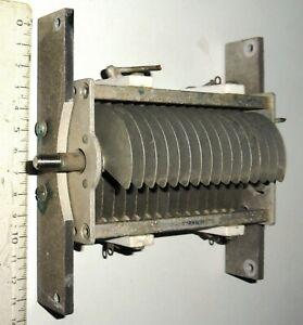 Condensateur-variable-120-pF-2000-Volts-demontage-BC191
