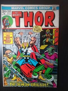 Bronze age Thor Marvel Comicbook #213 1973  VG-/VG