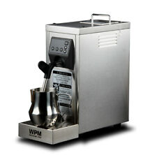 220v Automatic Milk Bubble Foam Machine Double Hole Pump Press Machine Ms 130t