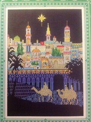 X Star of Wonder Bethlehem Nativity Scene Christmas Cross Stitch Chart