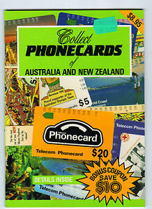 Collect-Phonecards-of-Australia-and-New-Zealand-Book