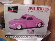 SPEC CAST,,,,1941 WILLYS STREET ROD,,,PRE PAINTED DIE CAST
