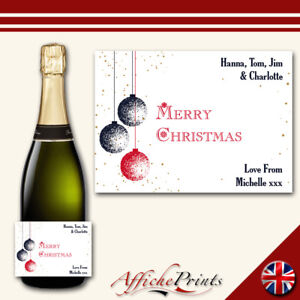 L155-Personalised-Merry-Christmas-Bauble-Snow-White-Prosecco-Bottle-Custom-Label