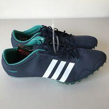 b4e4f15fa99 Adidas Adizero Prime SP Elite Mens Size 11.5 Navy Blue Track Spikes Sprint  Shoes