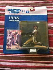 Fred McGriff Starting Lineup 1996 Edition - New in Pack with Sportscard