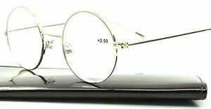 922da992a52ba Image is loading Retro-Vintage-Round-Reading-Glasses-Readers-John-Lennon-