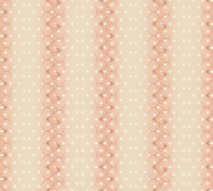 Love-Bird-Stripe-Dots-Calico-Peach-Stof-Quilting-100-cotton-fabric-by-the-yard