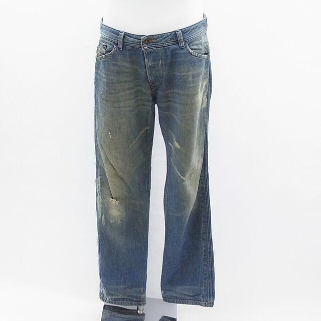 Diesel Pants blueee Mens Authentic Used  E276  top brand