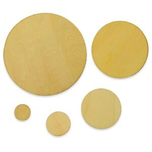 Wooden-Circle-Craft-Shapes-Wood-Coasters-DIY-Decoration-Supplies-Disc-Plaque-Tag