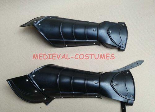 Arm Bracer Gauntlet Medieval Gauntlets Armour forearm Guard Larp Faire Gothic Re