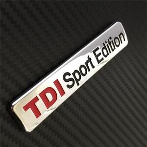 TDI-SPORT-EDITION-Insignia-Emblema-VW-Audi-Seat-Skoda-Golf-Jetta-Passat-A3-A4-A5-TT