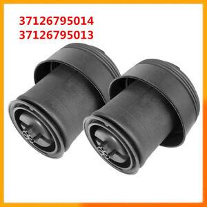 Pair 37126795014 37126795013 For BMW X5 F15 X6 F16 New Rear Air Spring Bag