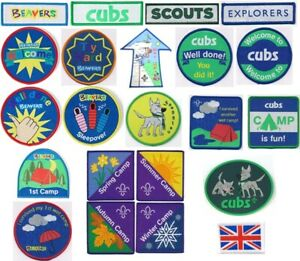 10 Camping Fun badge girlguide scout blanket badge patch patches badges cubs