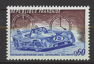 FRANCIA-FRANCE-1973-MNH-SC-1376-Race-24-hours-of-Lemans