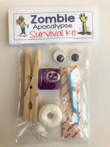 ZOMBIE SURVIVAL KIT joke gift Guy/'s funny prank Gag Gift Bags silly