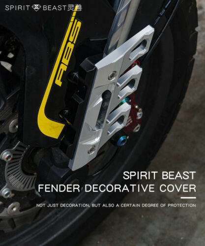 Spirit Beast Motorcycle Front Fender Cover Motocross Protection Case Guards