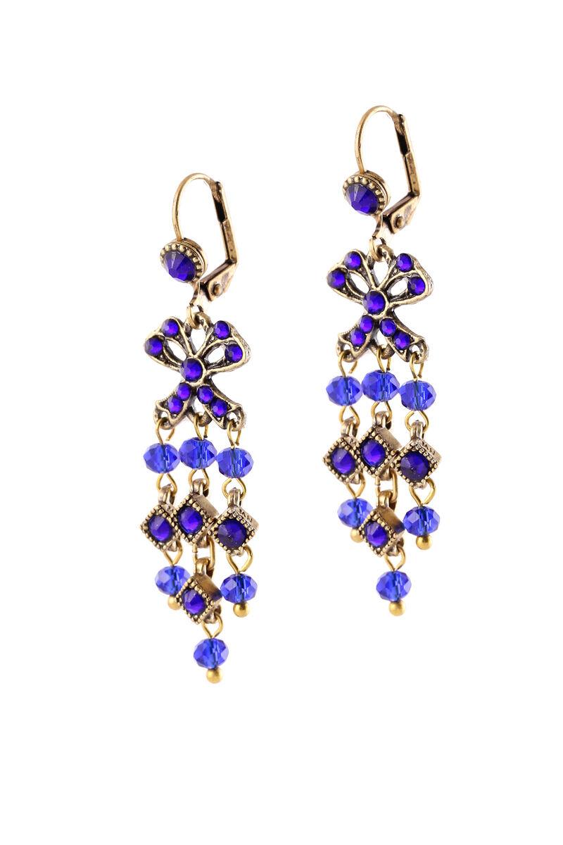 Michal Negrin Earrings Chandelier Swarovski Crystals 100173881010
