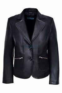 4406af55613 Image is loading Jane-Women-Ladies-Black-Designer-2-Button-Short-