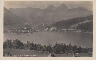 (768) Foto Ak Brunnen, Schwyz, Panorama, Vierwaldstättersee Supplement Die Vitalenergie Und NäHren Yin