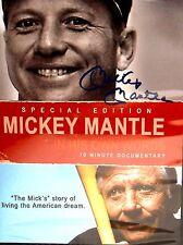 Mickey Mantle: In His Own Words NEW! DVD, FREE SHIP! Baseball,Yogi Berra,Yankees