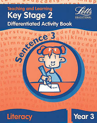 1 of 1 - Letts Primary Activity Books for Schools - KS2 Literacy Differentiated Activity
