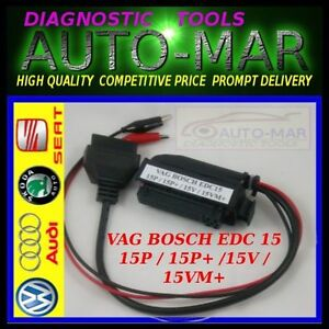 Details about ADAPTOR FOR CHIPTUNING ECU FLASHER Volkswagen Audi EDC15 /  EDC15P / EDC15P+