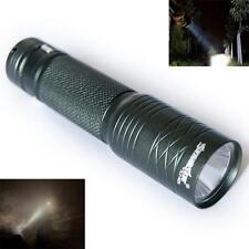 300LM Portable CREE Q5 LED 14500 AA Mini Flashlight Torch Lamp Light Black SM