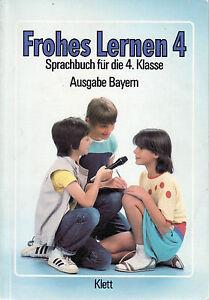 Frohes-Lernen-4-Sprachbuch-Ausgabe-Bayern-Klett-1985