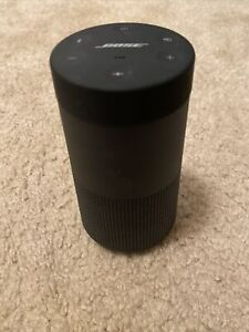 Bose SoundLink Revolve Portable Speaker System - Black Includes Case and Charger