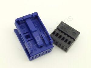 3b7035447a 12 pins quadlock mini iso connector for vag vw. Black Bedroom Furniture Sets. Home Design Ideas