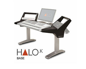 Argosy Halo-K Workstation Desk | Halo-K-B-S | Pro Audio LA | IN ...