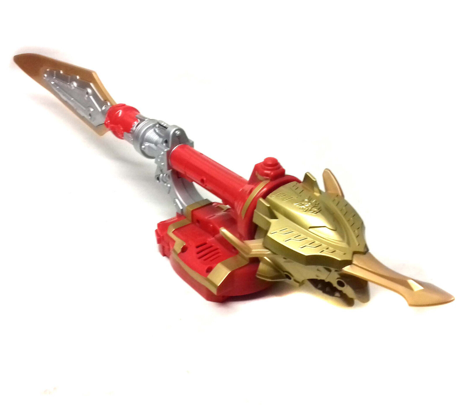Power Rangers Megaforce Roleplay RED RANGER 16  SWORD weapon with sound FX RARE