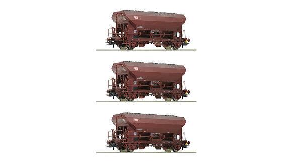 ROCO 76170 3 pezzi stessi SCARICO Wagenset, DB AG traccia h0 NUOVO OVP