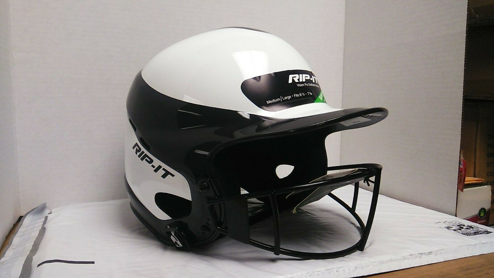 Rip It Vision Pro M-L Softball Helmet New