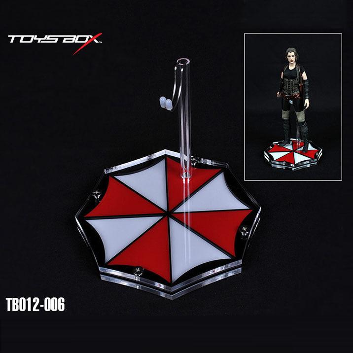 HOT FIGURE TOYS 1 6 The theme crystal platform Resident Evil umbrella style