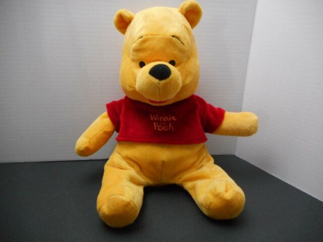 75673e30eb94 Disney Plush Floppy Super Soft Winnie The Pooh Bear for sale online ...