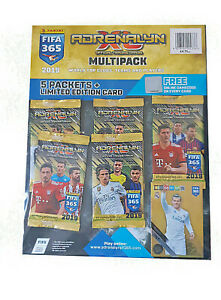 Panini-Adrenalyn-XL-FIFA-365-Multi-Pack-5-paquetes-tarjeta-De-Edicion-Limitada